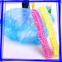 Wholesale 240pcs Solid Color Shower Cap Disposable Bathing Caps Family Barber s Cap Bathroom Hats