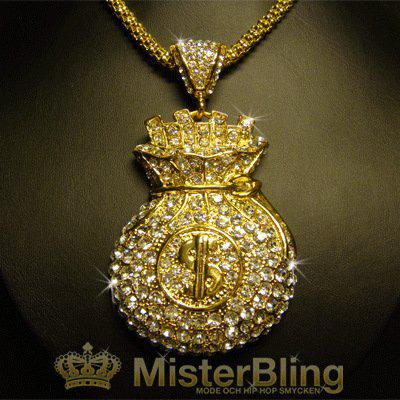 Bling Necklace Pendants Necklace Hiphop Bling Jayz