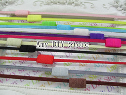 Wholesale 60pcs Inch Skinny Elastic Interchangeable Loop Headband Baby Headband Accessories FD001S