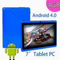 Wholesale Q88 Ultrathin Allwinner A13 quot Tablet PC Android ICE Cream Sandwich GB GHz Bundle Pouch
