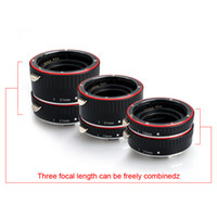 Wholesale Aputure Macro Extension Tube Set mm for Canon EOS EF EF S Lens TTL AF E4010C