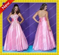 Ruffle A-Line Lace-up Custom Pink Peacock-Beading Plus Size A-Line Tulle Prom Dresses Sweetheart Shiny Quinceanera Gown