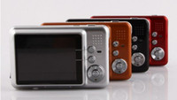 Wholesale quot LCD Screen MP Digital Camera White Black Gold Red Freeshipping