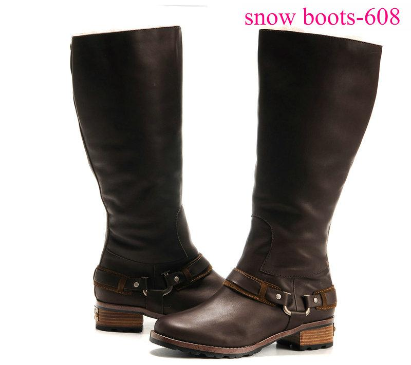 Womens Leather Winter Boots - Yu Boots