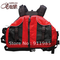Wholesale New customize pirog inflatable boat swimwear professional red life vest