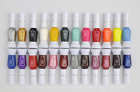 Pinks nail polish set - 24 Colors Ways Nail Art Brush Nail Pen Varnish Polish Nail Tools Set