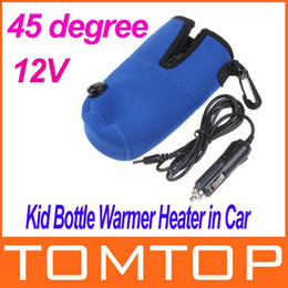 Wholesale 12V Universal Travel Baby Kid Bottle Warmer Heater in Car Blue Freeshipping Dropshipping H4952