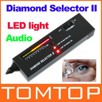 Wholesale Portable Diamond Selector II Moissanite Gemstone Tester Tool Freeshipping Dropshipping H8809