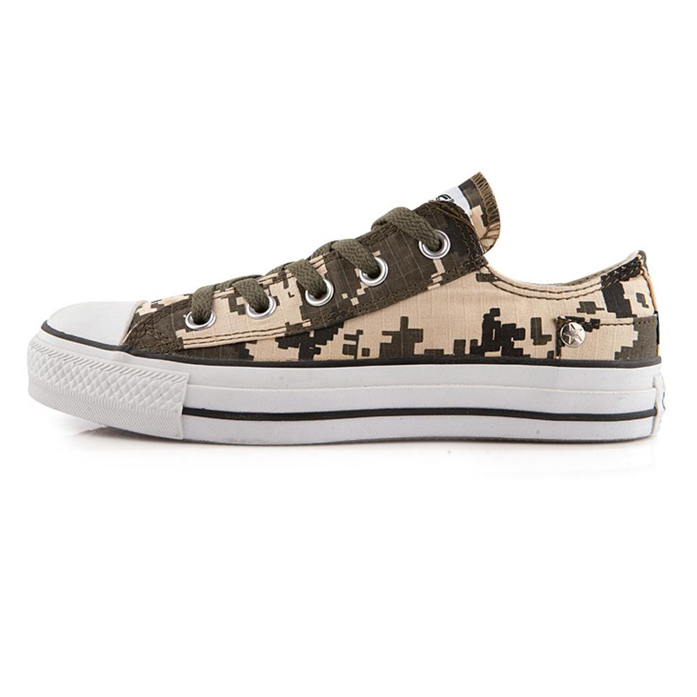 Converse Shoes Camouflage Green X Gorillaz Limited Edition Chuck