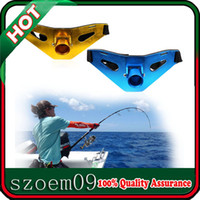 Wholesale New Adjustable Heavy Duty Fishing Fighting Salt Water Metal Fish Rod Holder Belt