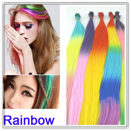 Wholesale 200pcs quot long colors U pick rainbow feather hair extension nice gift party decoration