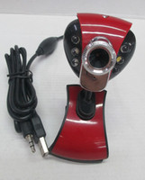 Wholesale Lowest Price Webcamera LED USB PC Clamp Camera high definition camera with mic