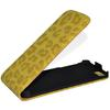 Flip Leopard PU Leather Top down Case Pouch for Apple iPhone 5 5G DHL Ship 30pcs lot