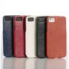 Brand New Genuine Flip Real Leather Back case cover for Apple iPhone 5 5G Fast DHL ship 20pcs lot