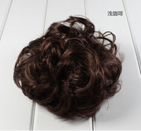 Wholesale hair accessory wig hair circle tousheng rubber rope elastic kinkiness mixed colors