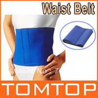 One Size   Fitness Fat Cellulite Burner Slimming Body Shaper Waist slim Belt Lost Weight H9119