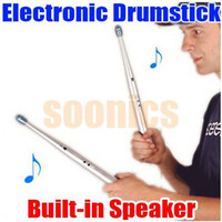 Wholesale SoundSticks Electronic Drumstick Rhythm Drum Stick Party Gimmick Kid Toy