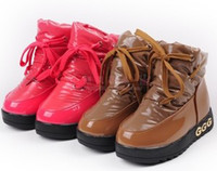 Wholesale kids boots Waterproof fabrics children cotton shoes children snow boots