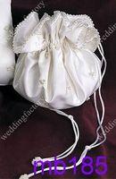 Wholesale Bridal Hand Bags Beaded Bridal Pockets with Ribbons and Beadings