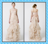 Wholesale New Style One Shoulder Gossip Girl Blair s Celebrity Dresses Organza Mermaid Bridesmaid Dress