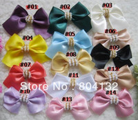 Wholesale 100p CM Ribbon Buterfly Bows Knot For DIY Hairpin Headband Wedding Christmas Party Flowers