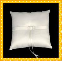 best shopping sales - Hot sale Best Lovely Satin Wedding Ring Bearer Pillow Wedding Shop Online Beautiful Ring Pillows