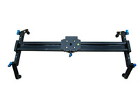 Wholesale 60CM DSLR DV Camera Shooting Slider Rail Sliding AND Roller Bearing Dolly Track FOR D2 Video