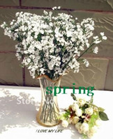 Display Flower artificial flowers retail - Low Price Retail silk simulation artificial flower Gypsophila paniculata Baby s breath flower