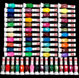 Wholesale 60 Colors Ways Nail Art Brush Nail Pen Varnish Polish Nail Tools Set colors Free Shipp