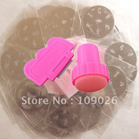 Wholesale Nail Art Stamp Stamping Template Plates Stamping Scrapers DIY Design