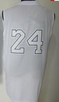 Wholesale Basketball jerseys White basketball jerseys mix order drop shipping DHL ship