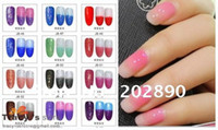 Wholesale New hot Led Soak Off UV Gel Nail Polish Chameleon Gradient Gradual changes Color Gel