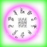 Wholesale CM Nail Art Stamping Image template plate S Series Styles