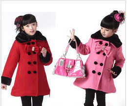 Discount Kids Red Coat | 2017 Red Coat Kids Girls on Sale at