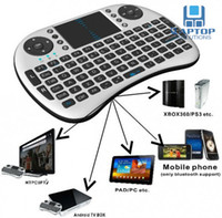 Wholesale 2 G Rii Mini i8 Wireless Keyboard with Touchpad for PC Pad Google Andriod TV Box