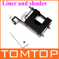 tattoo gun - Tattoo Supply Silent Black Motor Rotary Tattoo Gun Machine Use for Shader amp Liner r s H8909