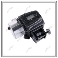 Wholesale S8Q Adjustable Digital Automatic Tank Aquarium Food Fish Feeder Feeding Timer AAAAGB00BK