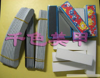 Wholesale 40pcs Nail Care Set File Buffer Color Standing Block For Nail Art Shiner Manicure amp Pedicure Nail To