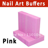 Wholesale pack way pattern nail buffer block polish files Nail Art Tips Manicure Tool Pi