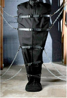 Wholesale BDSM FATORY Canvas Body Bag Sleepsack Bondage Mummification Bag whole body Harnesses