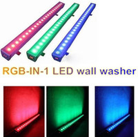 Wholesale RGB led Wall Washer High Power Flood Light Outdoor Waterproof Color Changing DMX Stage Light