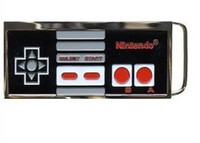 Wholesale New Black color Nintendo Controller belt buckle brand new condition