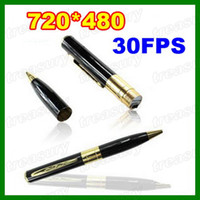 Wholesale Hot Mini Spy Pen Cam DV Camera Video Audio Recorder Camera Hidden Camcorder DVR Covert