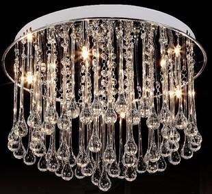 40cm crystal romantic absorb dome light ceiling lamp pendant lamp ems fast ship ceiling domes with lighting