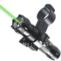 Tactical Rifle JG-16Green Laser Dot Rifle Scopes Outside Adjust With Mount Free Shipping