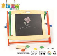 Wholesale Magnetic writing board double faced blackboard good small oppssed yt3303