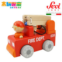 other   Child yakuchinone sevi mousavi car fire truck 82240 Wooden educational toys