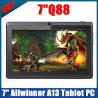 Wholesale Cheap Q88 Dual Camera inch A13 Capacitive WiFi Tablet PC Android Allwinner A13 M GB