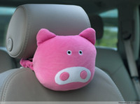 Wholesale Tapas car seat neck pillow plush crafts