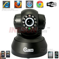 Wholesale Wireless wired IP IR Camera Network WIFI PT Indoor Security Colour Camera Night visibility up to Mete